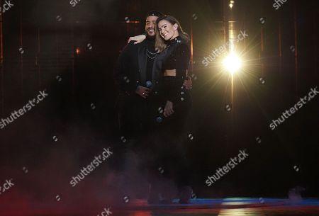 Slimane Nebchi and Vitaa