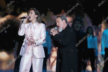 Vitaa and Florent Pagny