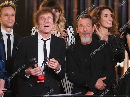 Florent Pagny and Alain Souchon