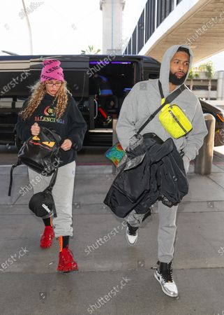 Stock Picture of Lauren Wood and Odell Beckham Jr