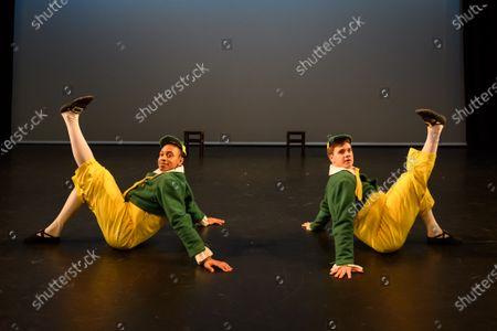 Editorial photo of 'Synergy' ballet dress rehearsal,  Lilian Baylis Studio, Sadler's Wells, London, UK - 14 Feb 2020