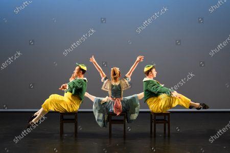 Editorial image of 'Synergy' ballet dress rehearsal,  Lilian Baylis Studio, Sadler's Wells, London, UK - 14 Feb 2020