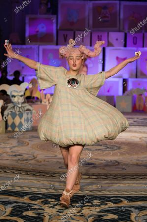 Editorial picture of Vin + OMI show, Runway, Fall Winter 2020, London Fashion Week, UK - 14 Feb 2020