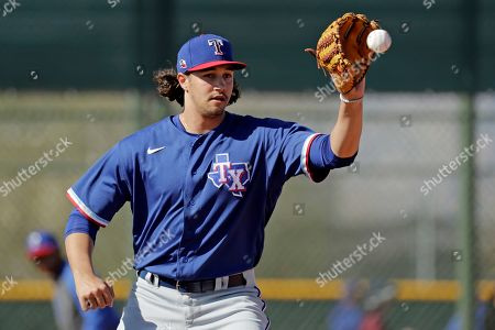 Editorial photo of Rangers Spring Baseball, Surprise, USA - 14 Feb 2020