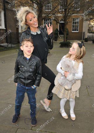 Danielle Mason and children