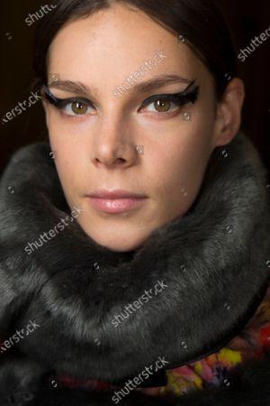 Editorial image of Vera Wang show, Backstage, Fall Winter 2020, New York Fashion Week, USA - 11 Feb 2020