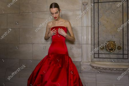 Editorial photo of Oscar De La Renta show, Backstage, Fall Winter 2020, New York Fashion Week, USA - 10 Feb 2020