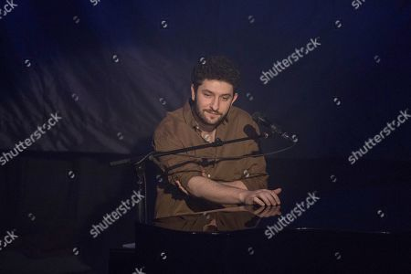 Editorial photo of Billy Lockett in concert at Hoxton Hall, London, UK - 14 Feb 2020