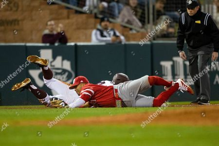 Editorial image of Miami OH Texas A M Baseball, College Station, USA - 14 Feb 2020