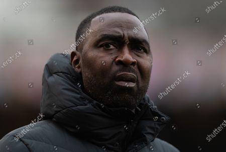 Southend United First Team Coach Andy Cole