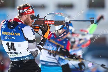 Editorial photo of Biathlon World Championships, Antholz, Italy - 15 Feb 2020