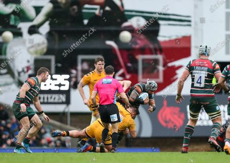 Editorial picture of Leicester Tigers v Wasps, UK - 15 Feb 2020