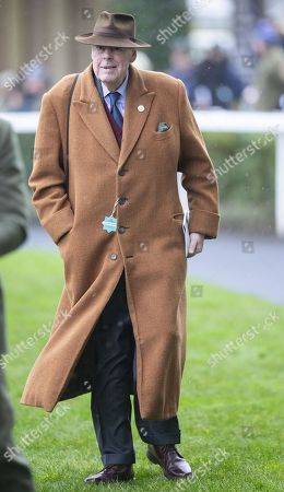 Stock Picture of Sir Nicholas Soames attends the racing