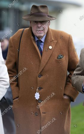 Stock Image of Sir Nicholas Soames attends the racing