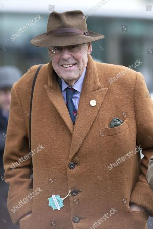 Sir Nicholas Soames attends the racing