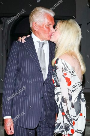 Editorial image of George Hamilton out and about, Los Angeles, USA - 14 Feb 2020