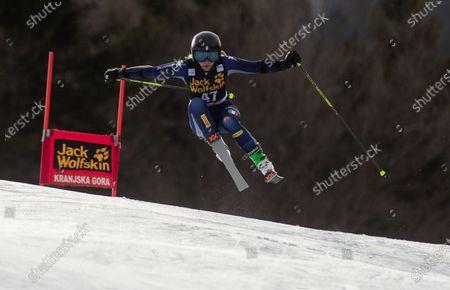 Editorial photo of 56th Golden Fox, Ladies Giant Slalom, FIS Alpine Ski World Cup, Kranjska Gora, Slovenia - 15 Feb 2020