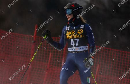 Francesca Fanti of Italy during the Ladies' Giant Slalom at 56th Golden Fox event at Audi FIS Ski World Cup 2019/20