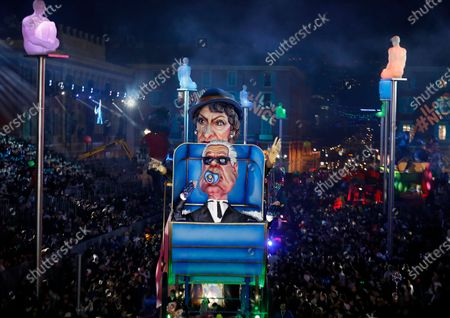 Editorial image of Nice Carnival 2020, France - 15 Feb 2020