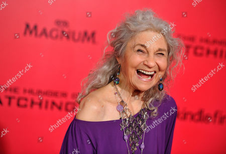 """Stock Photo of Lynn Cohen arrives at the Los Angeles premiere of """"The Hunger Games: Catching Fire"""" at Nokia Theatre LA Live. Cohen, an actress best known for playing the plainspoken housekeeper and nanny Magda in """"Sex and the City,"""" has died. She was 86. Cohen died in New York City, said her manager, Josh Pultz"""