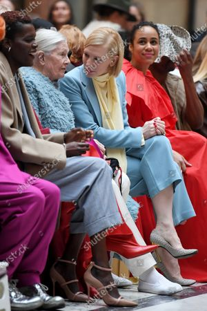 Stock Picture of Vanessa Redgrave, Cate Blanchett and Zawe Ashton at the Foreign and Commonwealth Office