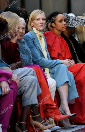 Vanessa Redgrave, Cate Blanchett and Zawe Ashton at the Foreign and Commonwealth Office