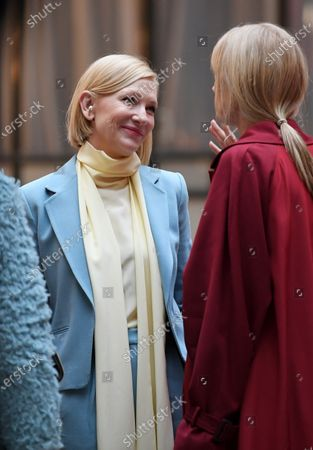 Cate Blanchett and Joely Richardson at the Foreign and Commonwealth Office