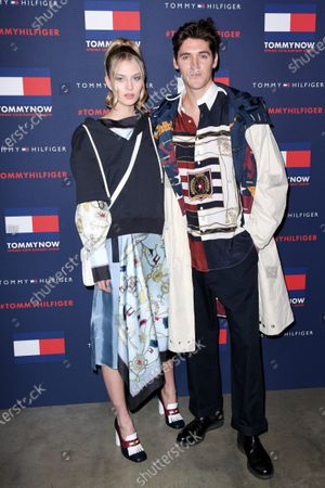Editorial photo of Tommy Hilfiger show, Arrivals, Fall Winter 2020, London Fashion Week, UK - 16 Feb 2020