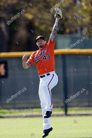 Editorial picture of Orioles Spring Baseball, Sarasota, USA - 15 Feb 2020