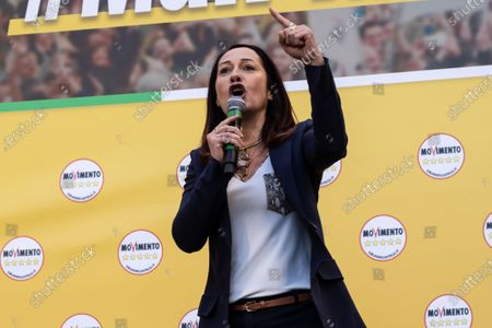 Editorial photo of 5 Star Movement political rally, Rome, Italy - 15 Feb 2020