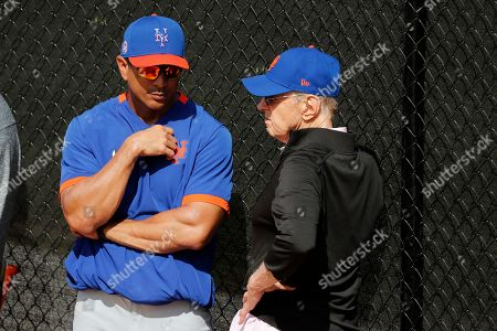 Editorial image of Mets Spring Baseball, Port St. Lucie, USA - 15 Feb 2020