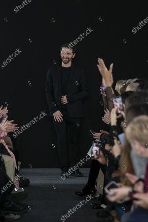 Editorial photo of David Koma show, Runway, Fall Winter 2020, London Fashion Week, UK - 15 Feb 2020