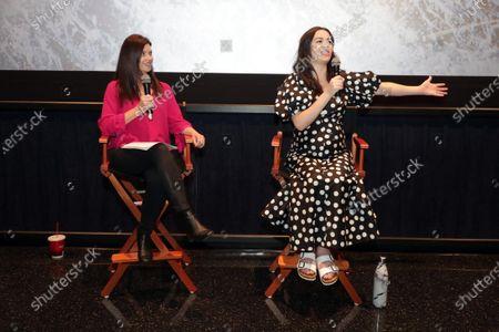 Stock Image of Moderator Tara McNamara and Cara Gee