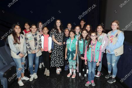Editorial image of Special Girl Scout screening of THE CALL OF THE WILD at Regal L.A. Live Stadium 14, Los Angeles, USA - 15 February 2020
