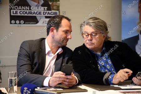 Editorial picture of Rassemblement National Party press conference, Nimes, France - 14 Feb 2020