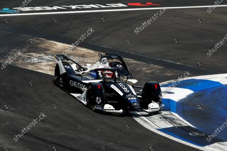 Swiss driver Nico Mueller of the Geox Dragon team in action during the Grand Prix of Formula E at the Autodromo Hermanos Rodriguez of Mexico City, Mexico, 15 February 2020.