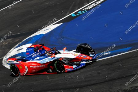 Stock Picture of German driver Pascal Wehrlein of the Mahindra Racing team in action during the Grand Prix of Formula E at the Autodromo Hermanos Rodriguez of Mexico City, Mexico, 15 February 2020.