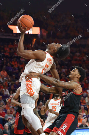 Editorial image of Louisville Basketball, Clemson, USA - 15 Feb 2020