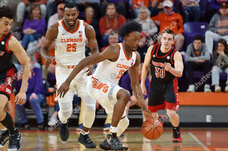 Editorial picture of Louisville Basketball, Clemson, USA - 15 Feb 2020