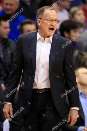 Editorial image of Oklahoma Kansas Basketball, Lawrence, USA - 15 Feb 2020