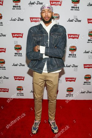 Editorial image of Levi's Annual Ball-B-Que during All Star Weekend, The Godfrey Hotel Rooftop, Chicago, USA - 15 Feb 2020