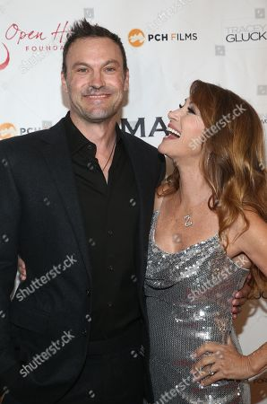 Brian Austin Green and Jane Seymour