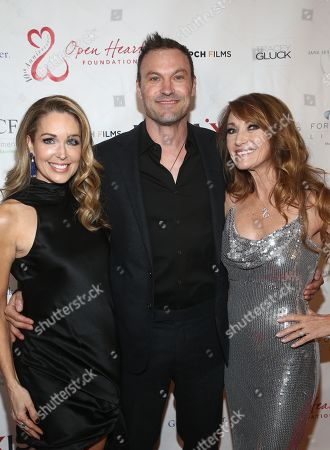 Stock Image of Christi Paul, Brian Austin Green and Jane Seymour