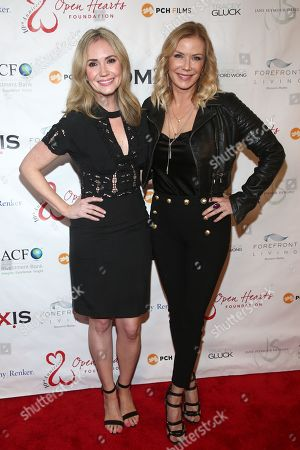 Stock Picture of Ashley Jones and Katherine Kelly Lang