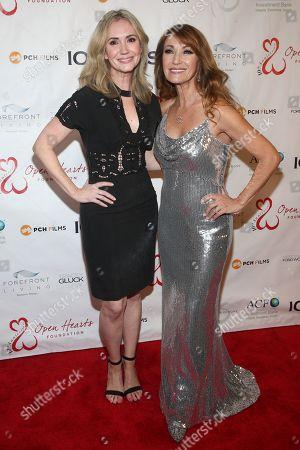 Stock Photo of Ashley Jones and Katherine Kelly Lang