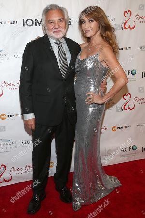 Stock Image of David Green and Jane Seymour