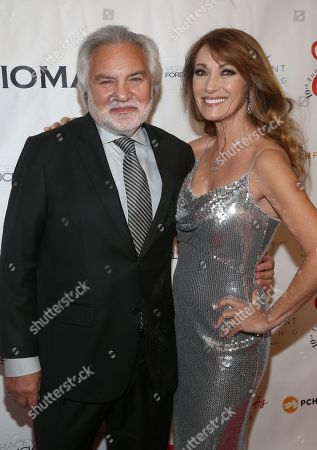 Stock Picture of David Green and Jane Seymour