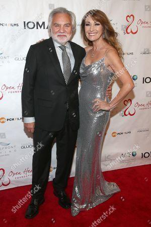 David Green and Jane Seymour