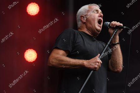 Stock Image of Daryl Braithwaite performs during the Fire Fight Australia bushfire relief concert at ANZ Stadium in Sydney, Australia, 16 February 2020.