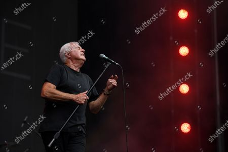 Stock Picture of Daryl Braithwaite performs during the Fire Fight Australia bushfire relief concert at ANZ Stadium in Sydney, Australia, 16 February 2020.